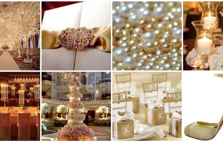 Pearl Wedding Theme Ideas