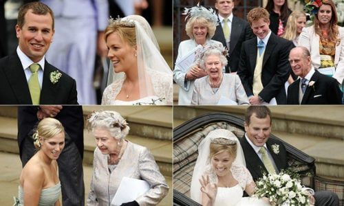 Peter Phillips and Autumn Kelly: A royal wedding album
