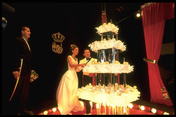 Queen Rania: Wedding Cake #2