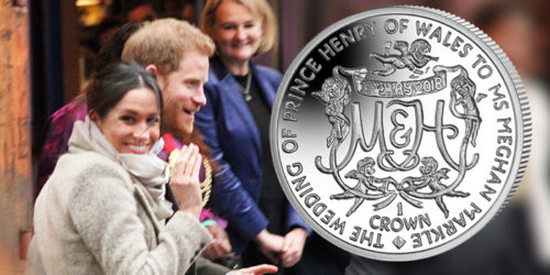 Royal Wedding of Prince Harry and Meghan Markle Commemorated on Their Very Own Crytocurrency & Silver Coin