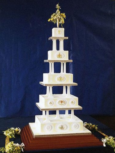 Sarah Ferguson's Wedding Cake