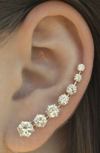 Stunning Bobby Pin Earring for Prom