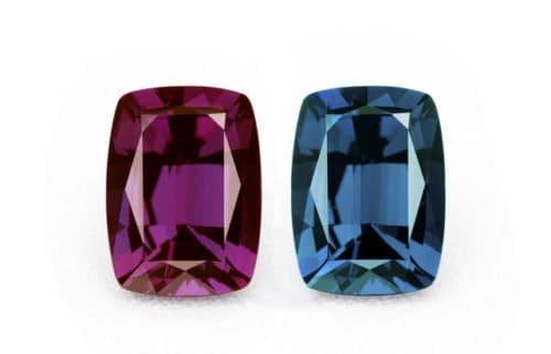 luxurious gemstones