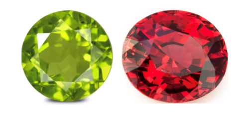 8. August Birthstones – Peridot and Spinel