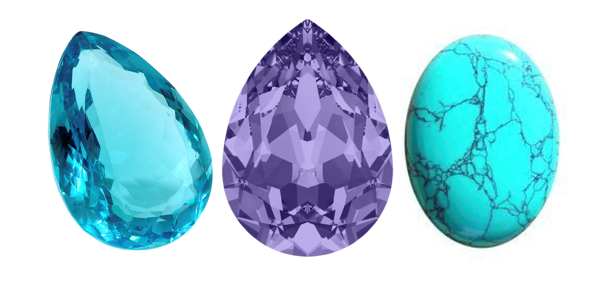 December Birthstones – Zircon, Tanzanite, and Turquoise
