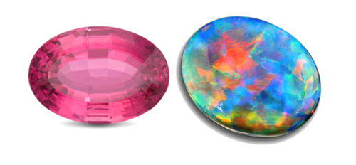 October Birthstones – Tourmaline and Opal