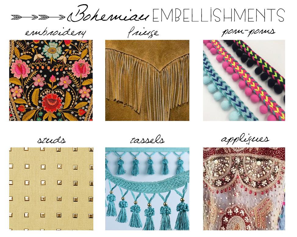 Bohemian Embellishments