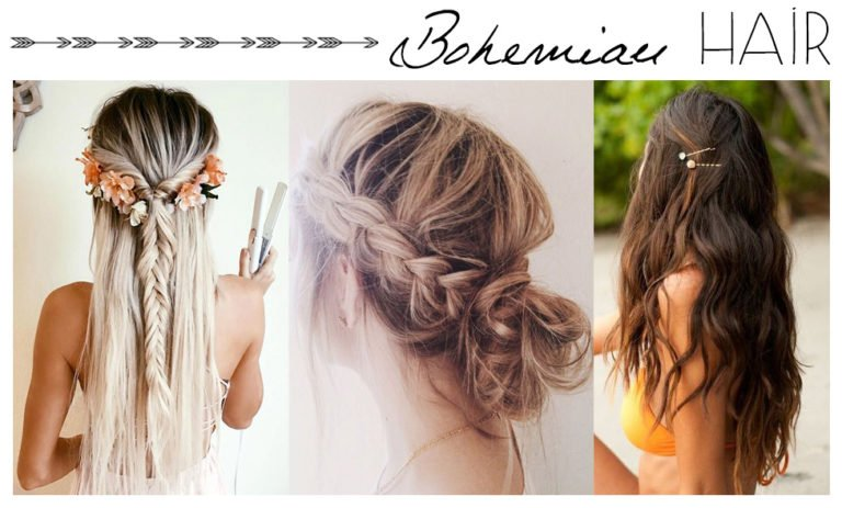 Peinados bohemios