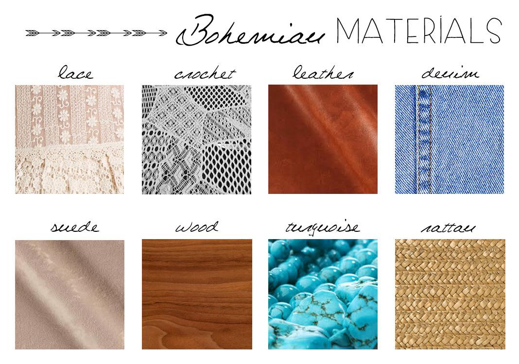 Bohemian Materials