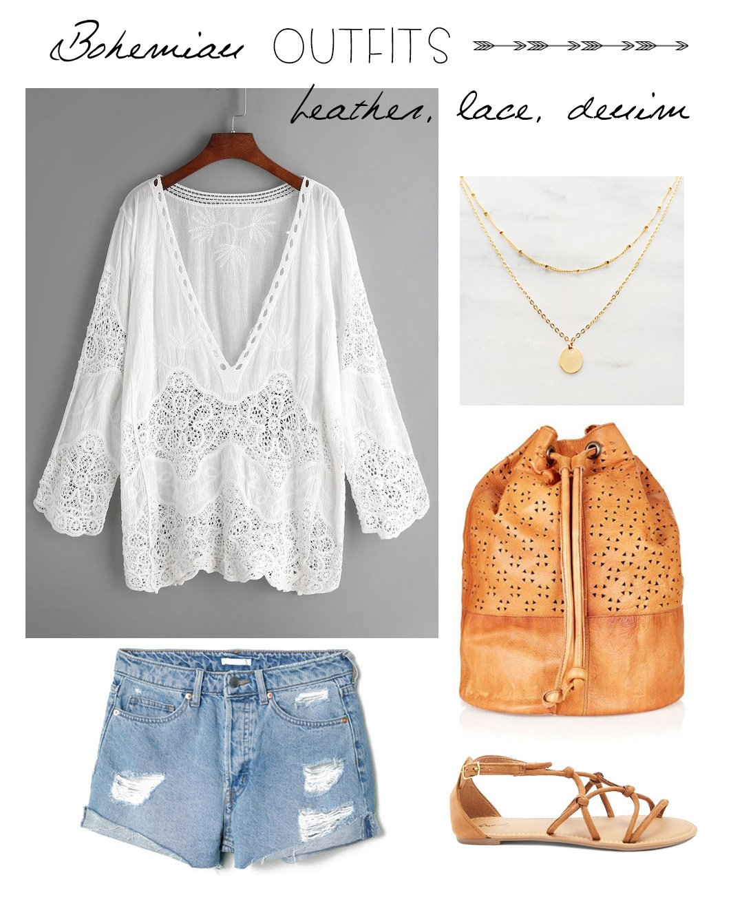 06ba982e6540 A casual summer look that is as boho as they come