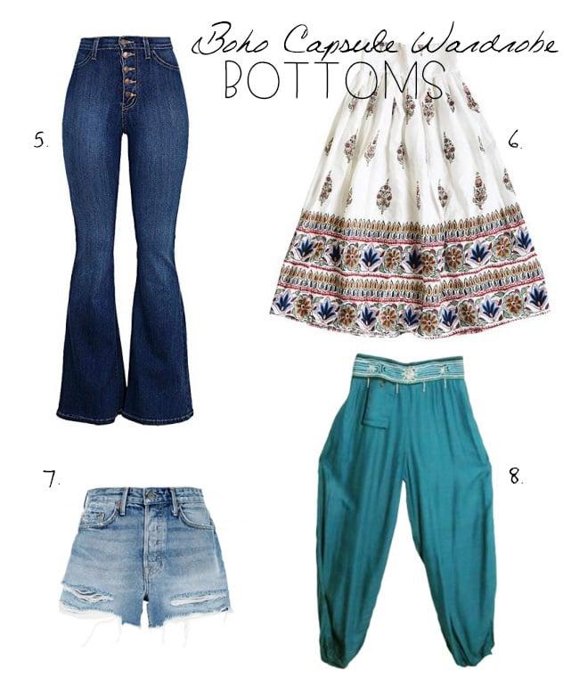 Bohemian Style Bottoms