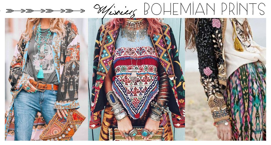 How to Mix Boho Prints