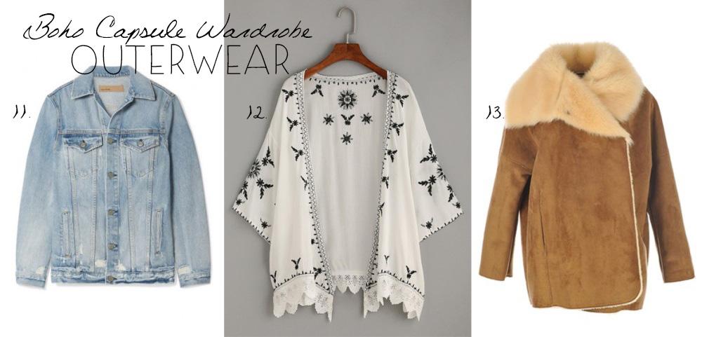 Bohemian Outerwear