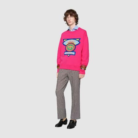 0d48d74104b70 Gucci sweatshirts  Rappers like Rakim and Eric B. loved the Gucci brand