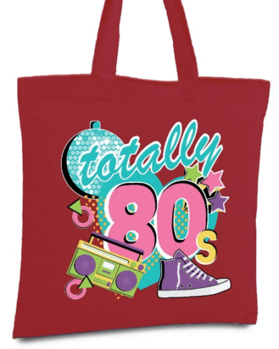 e16a51d4838 Tote bags: Tote bags were a favorite fashion accessory in the 80s.  Companies such as LL Bean were already selling them for years, but in 1980,  ...