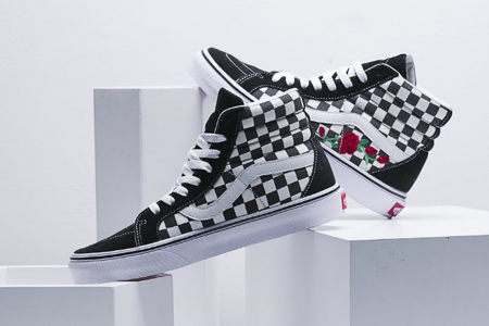 afb03dc04abb Vans sneakers: Skateboarding was a favorite sport in the 80s, and masters  of the board were showing off their skills indistinctive checkerboard Vans  slip-on ...