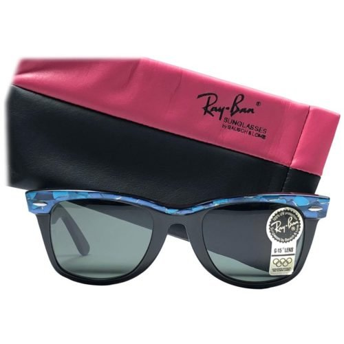 989eff856cb65 Ray Ban  Famous for their Wayfarer and Aviator sunglasses