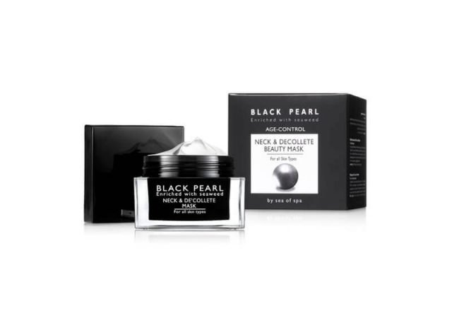 The Black Pearl Neck & Décolleté Beauty Mask
