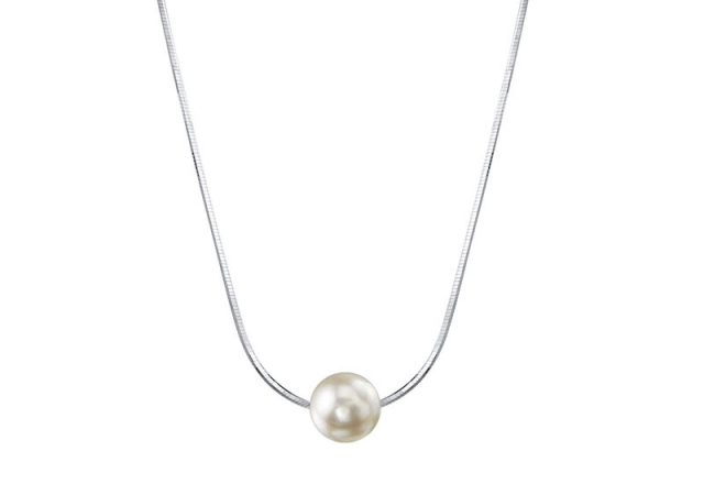 The Custom Akoya Pearl Chain Necklace
