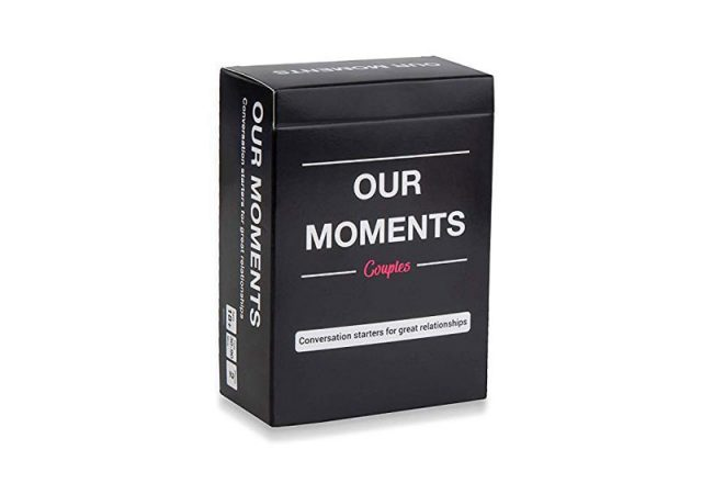 The Our Moments Couples Card Game