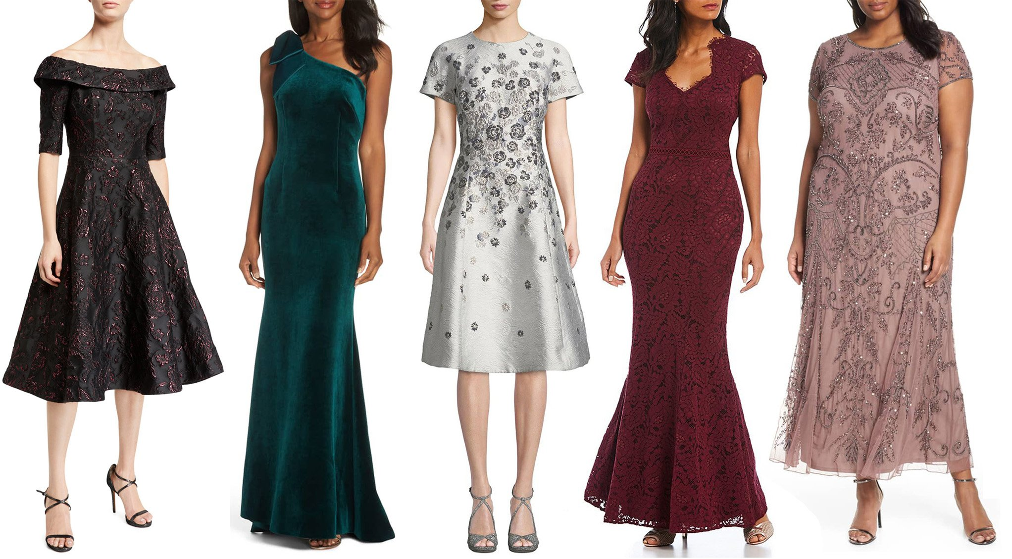 Mother Of The Bride Dresses And Jewelry Pieces For A Fabulous Look