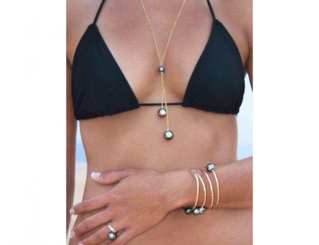 Black Pearls Bikini