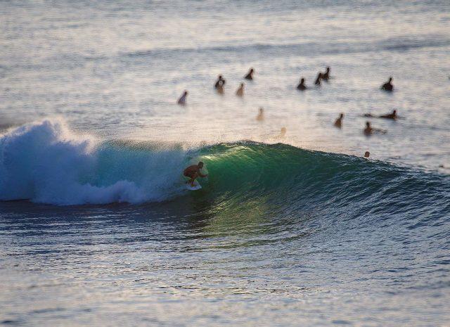 Bali Barrel Surfing