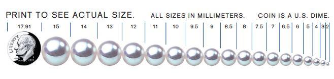 7.0-7.5mm White Akoya Pearl Stud Earrings
