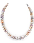 10-11mm Multicolor Freshwater Pearl Necklace- AAAA Quality