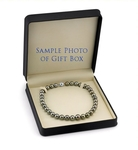 10-11mm Peacock Tahitian South Sea Pearl Necklace - AAAA Quality - Third Image