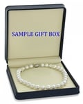 11-14mm White South Sea Pearl Necklace - Third Image