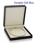 14-17mm Golden South Sea Pearl Necklace - AAA Quality - Third Image