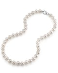 9.0-9.5mm Hanadama Akoya White Pearl Necklace
