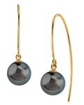 Tahitian South Sea Pearls Bonnie Earrings - Model Image