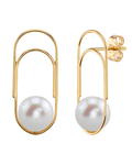 Freshwater Pearl Sabrina Earrings - Third Image