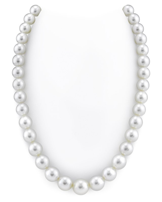10-13mm White South Sea Pearl Necklace - AAAA Quality