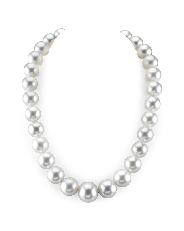14-16.8mm White South Sea Pearl Necklace