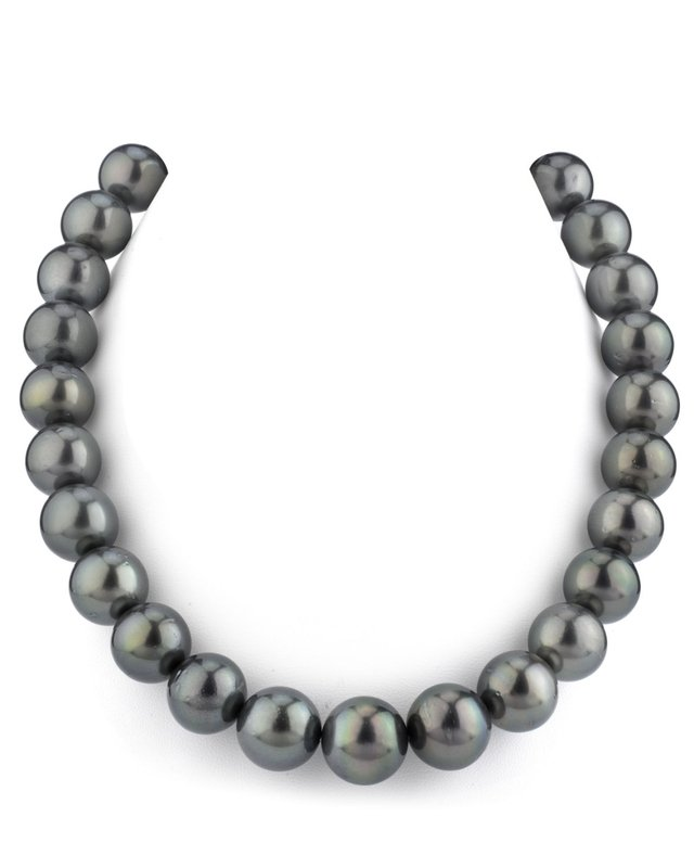 12-14mm Tahitian South Sea Pearl Necklace - AAA Quality