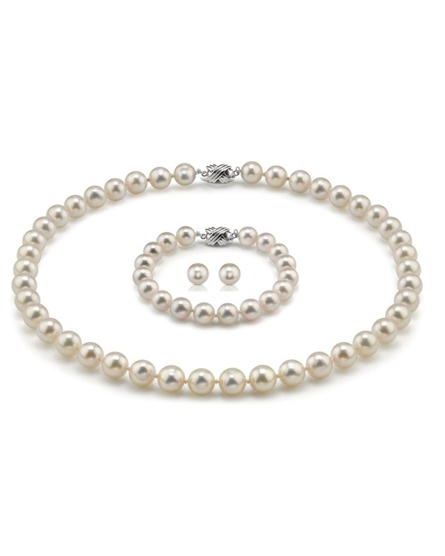 6.5-7.0mm Hanadama Pearl Set