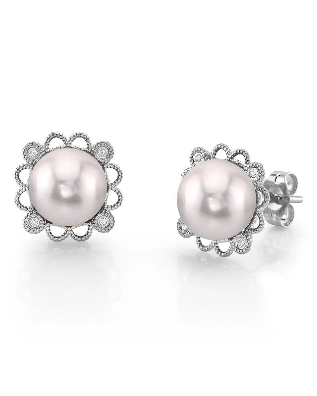 Japanese Akoya Pearl Lea Earrings