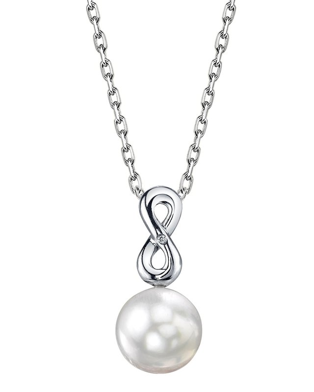 South Sea Pearl & Diamond Rachel Pendant