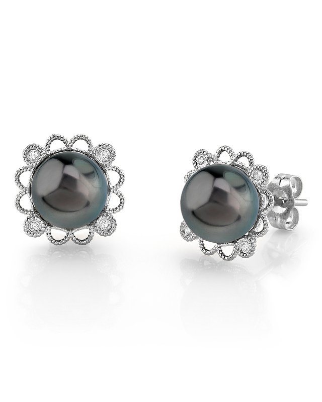 Tahitian South Sea Pearl Lea Earrings