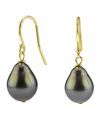 Tahitian South Sea Pearl Earrings The Pearl Source