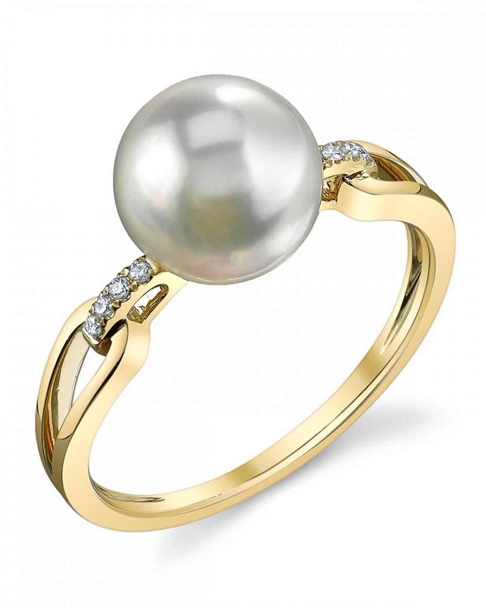 Akoya Pearl Rings Shop Pearl Rings The Pearl Source