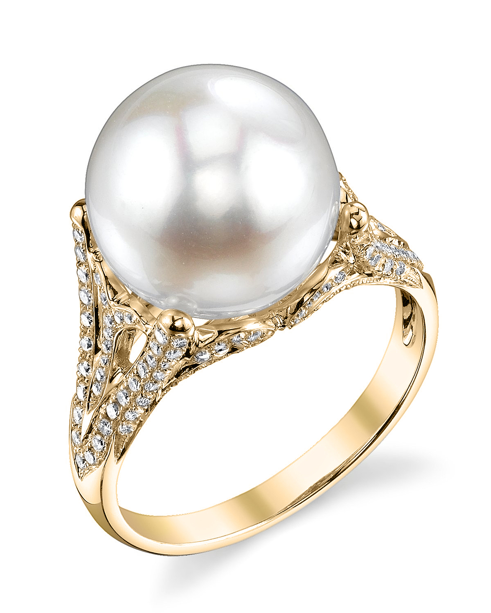 white south sea pearl gabriella ring