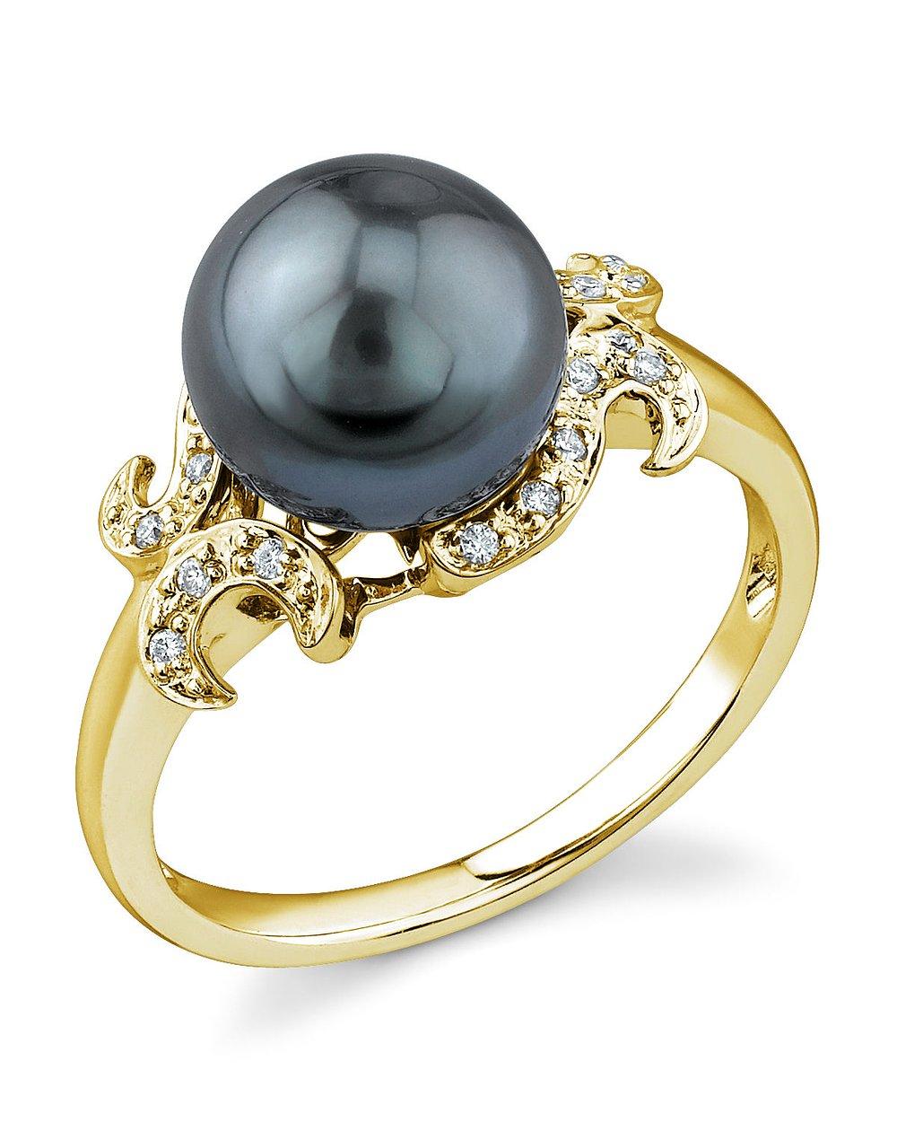 Tahitian South Sea Pearl Rings | Shop Pearl Rings