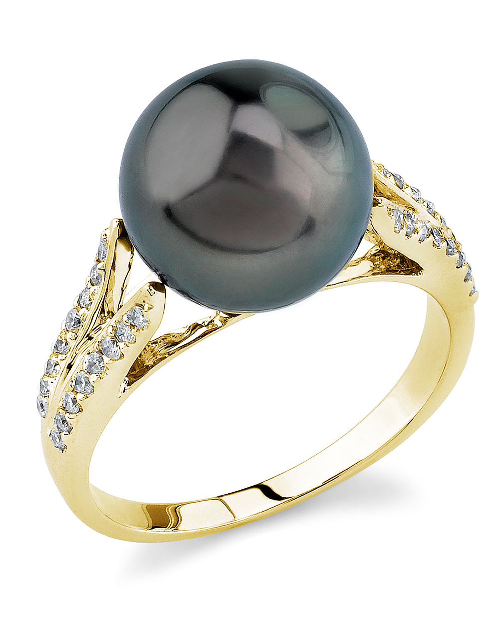 Tahitian South Sea Pearl Rings | Shop Pearl Rings
