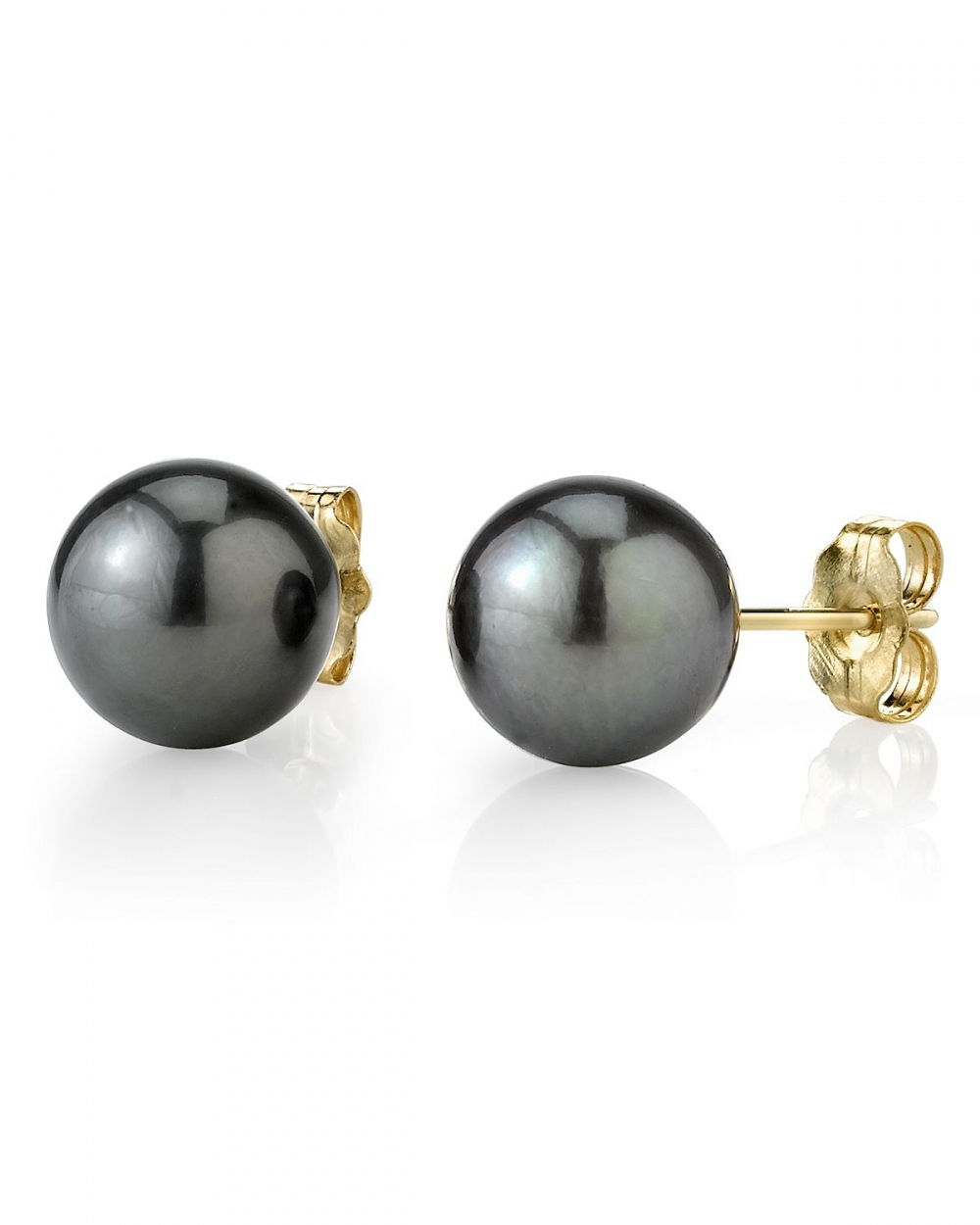 12mm tahitian south sea pearl stud earrings various colors