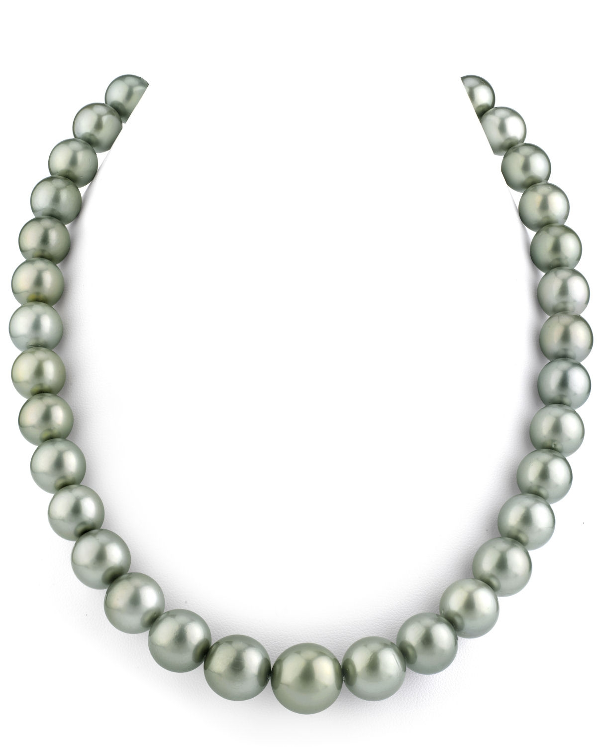 11-13mm Silver Tahitian South Sea Pearl Necklace