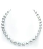 10-11mm White South Sea Drop-Shape Pearl Necklace